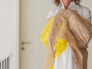 Flowers in your hair a must have shawl by Valentina