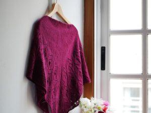 Lugano Shawl, warm soft and versatile by Lucía