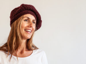 Ginette beret, in High Mountain Yak by Mlle Petronille